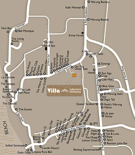 villa-laksmana-hideaway-map